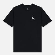 Мужская футболка Jordan Jumpman Air Embroidered Black/White фото- 0