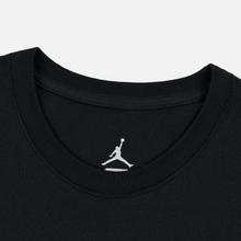 Мужская футболка Jordan Jumpman Air Embroidered Black/White фото- 1