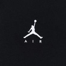 Мужская футболка Jordan Jumpman Air Embroidered Black/White фото- 2