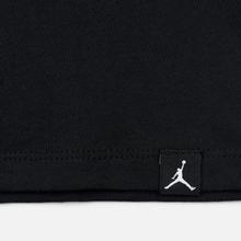 Мужская футболка Jordan Jumpman Air Embroidered Black/White фото- 3