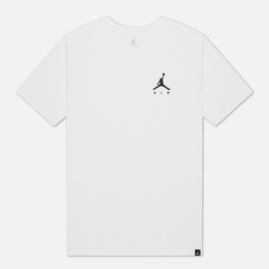 Мужская футболка Jordan Jumpman Air Embroidered White/Black