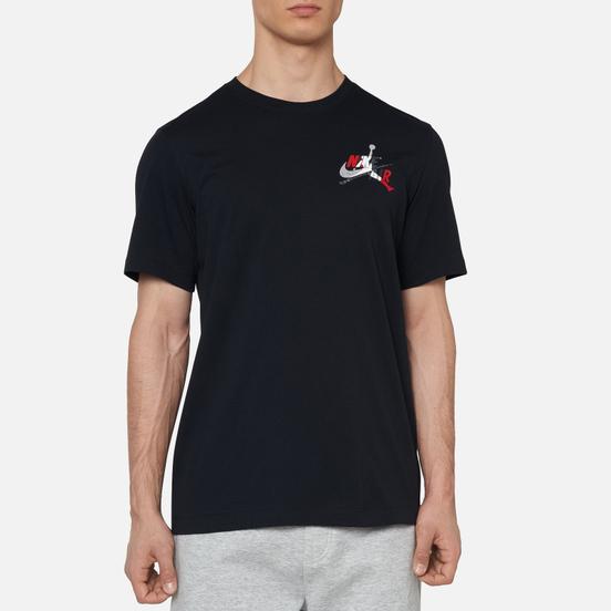 Мужская футболка Jordan Jumpman Classic Graphic Black/White