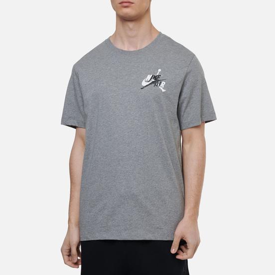 Мужская футболка Jordan Jumpman Classic Graphic Carbon Heather/Black
