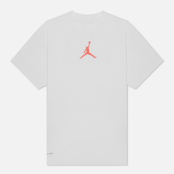 Мужская футболка Jordan Jumpman Dri-Fit Crew White/Infrared