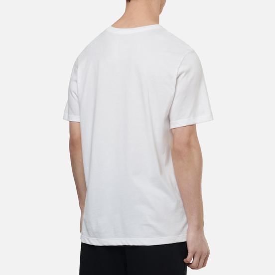 Мужская футболка Jordan Jumpman Dri-Fit Crew White/Infrared
