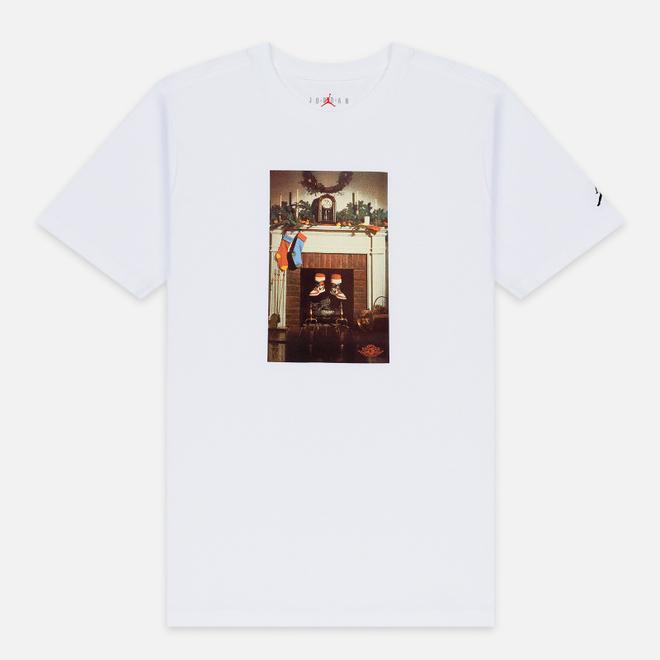 Мужская футболка Jordan Mike Air White