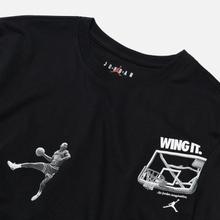 Мужская футболка Jordan Photo Wing It Black фото- 1