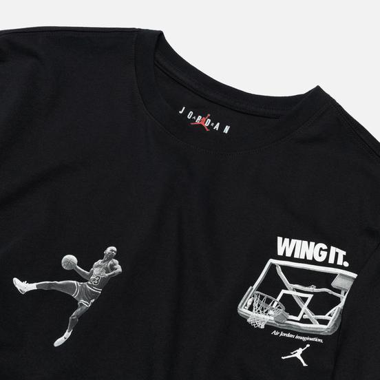 Мужская футболка Jordan Photo Wing It Black