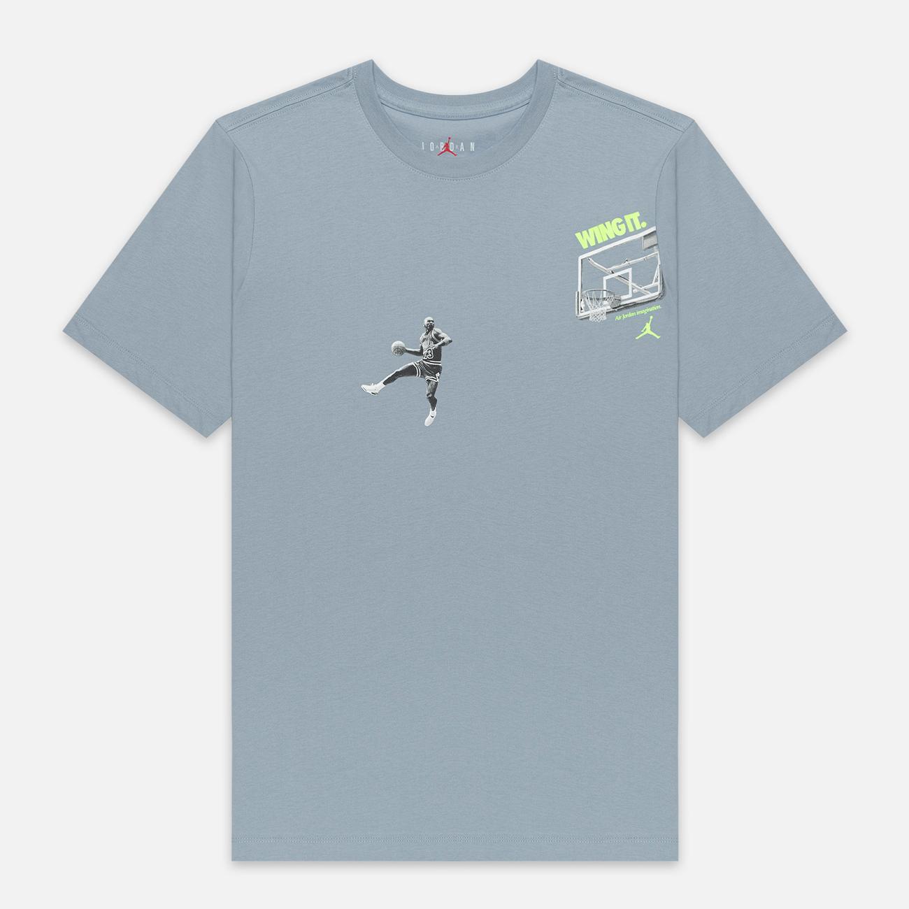 Мужская футболка Jordan Photo Wing It Obsidian Mist