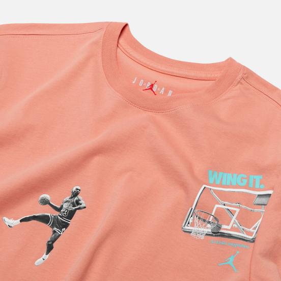 Мужская футболка Jordan Photo Wing It Pink Quartz