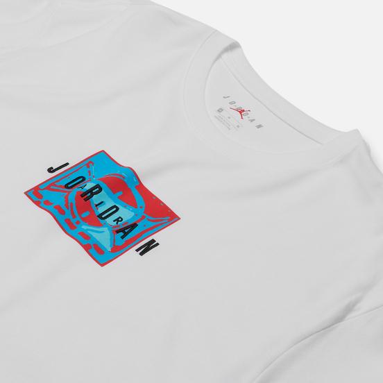 Мужская футболка Jordan Sport DNA Crew White/Black