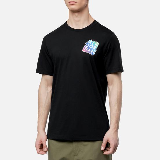 Мужская футболка Jordan Sticker Mash Black