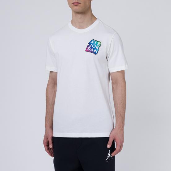 Мужская футболка Jordan Sticker Mash White