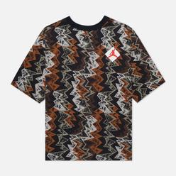 Мужская футболка Jordan x Patta NRG Jumpman Black/Beach