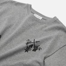 Мужская футболка JW Anderson Camelot Printed Frost Melange фото- 1
