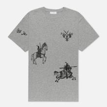 Мужская футболка JW Anderson Camelot Printed Frost Melange фото- 0