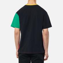 Мужская футболка JW Anderson Colourblock Red/Black фото- 3