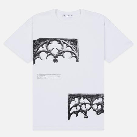 Мужская футболка JW Anderson Gates Print White