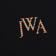 Мужская футболка JW Anderson JWA Embroidery Logo Black фото- 2