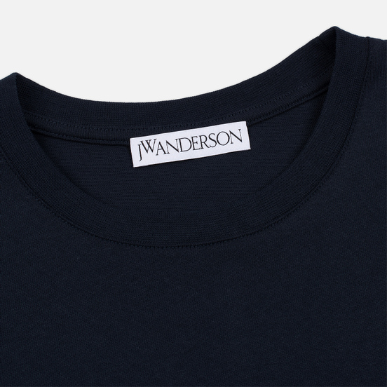 Мужская футболка JW Anderson JWA Embroidery Logo Navy