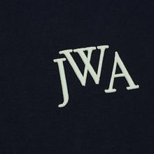 Мужская футболка JW Anderson JWA Embroidery Logo Navy фото- 2