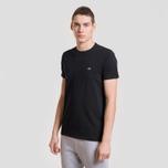 Мужская футболка Lacoste Classic Embroidered Logo Black фото- 1