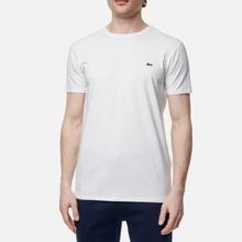 Мужская футболка Lacoste Classic Embroidered Logo White фото- 1