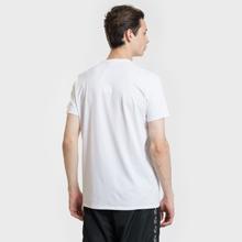 Мужская футболка Lacoste Classic Embroidered Logo White фото- 3