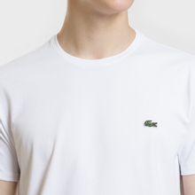 Мужская футболка Lacoste Classic Embroidered Logo White фото- 2