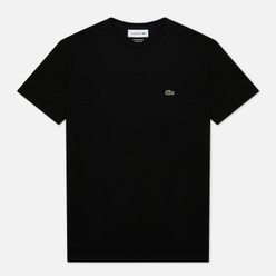 Мужская футболка Lacoste Crew Neck Pima Cotton Black