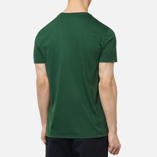 Мужская футболка Lacoste Crew Neck Pima Cotton Green