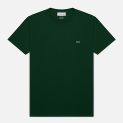 Мужская футболка Lacoste Crew Neck Pima Cotton Green
