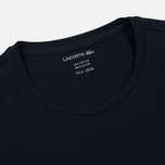 Мужская футболка Lacoste Crew Neck Pima Cotton Navy Blue фото- 1