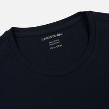 Мужская футболка Lacoste Crew Neck Pima Cotton Navy Blue фото- 1