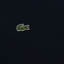 Мужская футболка Lacoste Crew Neck Pima Cotton Navy Blue фото- 2