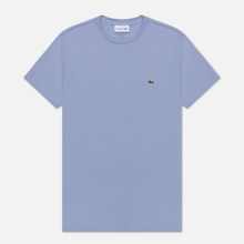 Мужская футболка Lacoste Crew Neck Pima Cotton Purple фото- 0