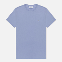 Мужская футболка Lacoste Crew Neck Pima Cotton Purple