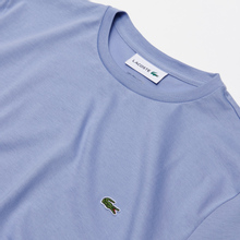 Мужская футболка Lacoste Crew Neck Pima Cotton Purple фото- 1