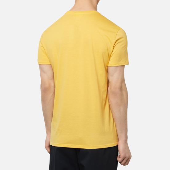 Мужская футболка Lacoste Crew Neck Pima Cotton Yellow