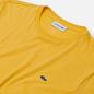 Мужская футболка Lacoste Crew Neck Pima Cotton Yellow фото - 1