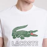 Мужская футболка Lacoste Graphic Croc Logo White фото- 3
