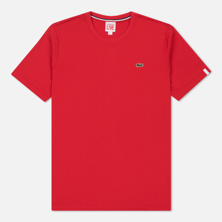 Мужская футболка Lacoste Live Crew Neck Cotton Fireman