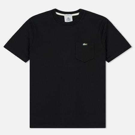 Мужская футболка Lacoste Live Crew Neck Cotton Jersey Black