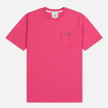 Мужская футболка Lacoste Live Crew Neck Cotton Jersey Fushia Pink фото- 0