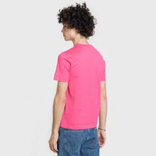 Мужская футболка Lacoste Live Crew Neck Cotton Jersey Fushia Pink фото- 2