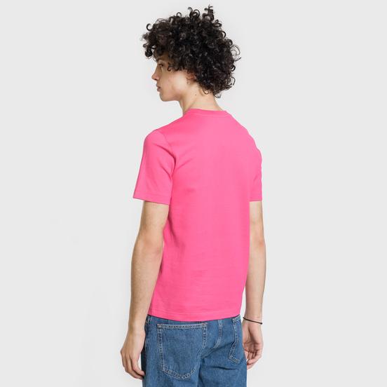 Мужская футболка Lacoste Live Crew Neck Cotton Jersey Fushia Pink