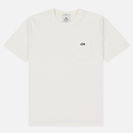 Мужская футболка Lacoste Live Crew Neck Cotton Jersey White