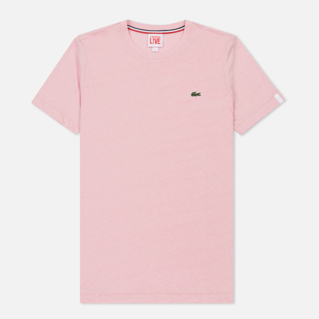 Мужская футболка Lacoste Live Crew Neck Cotton Orchidea