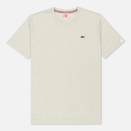 Мужская футболка Lacoste Live Crew Neck Cotton Pigeon
