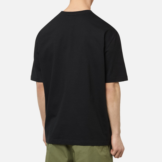 Мужская футболка Lacoste Live Crew Neck Loose Cotton Black